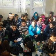 Campo profughi di Gaziantep, 26 novembre 2012