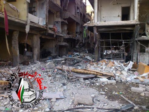 campo profughi yarmouk 17 dicembre 2012
