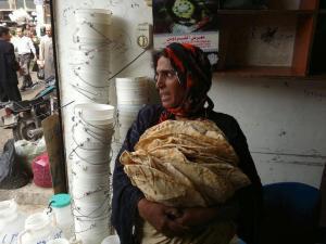 il pane in siria
