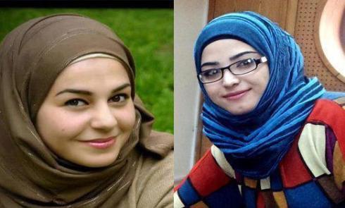 Muna Burhan e Ruba Omar