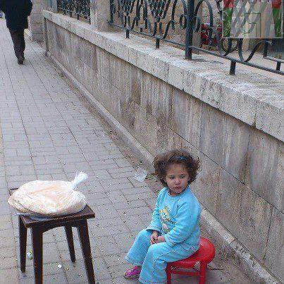 16 febbraio Al Rastan la venditrice di pane