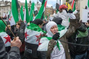 in ogni parte del mondo, la gente ha riconosciuto la lotta per la libertà del popolo siriano