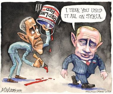 Obamaìs redline