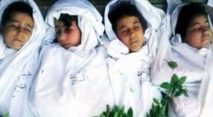 profughi palestinesi, vittime dei bombardamenti del regime siriano su Yarmouk