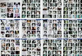alcuni delle vittime delle campagne repressivi di Assad negli anni '80.
